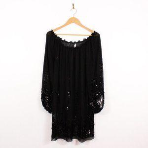 Sheer Sequin Dress